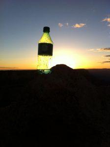 夕日に染まるグランドキャニオン2
